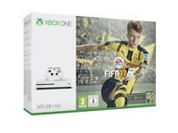 Brand New Xbox One S 500GB FIFA 17 Console bundle. Still boxed and sealed with full warranty.