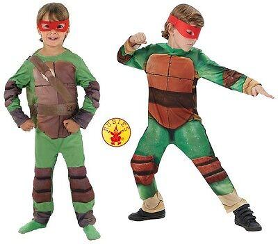 NEW Boy's Teenage Mutant Ninja Turtle TMNT Official Rubies Fancy Dress Costume](Official Ninja Turtle Costume)