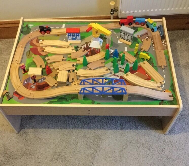 Captivating Wooden Train Track Table Set Images - Best Image Engine ... Captivating Wooden Train Track Table Set Images Best Image Engine & Captivating Wooden Train Track Table Set Images - Best Image Engine ...