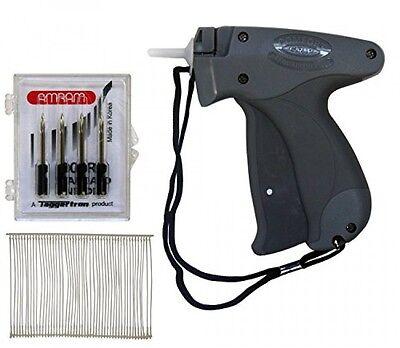 Amram Comfort Grip Standard Tag Attaching Tagging Gun Bonus Kit With 5 Needles