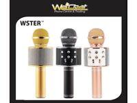 WSTER WS-858 Wireless Handheld Microphone KTV Karaoke Stereo USB