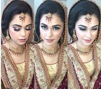 AFFORDABLE PRO BRIDAL INDIAN/SOUTH ASIAN MAKEUP AND HAIR