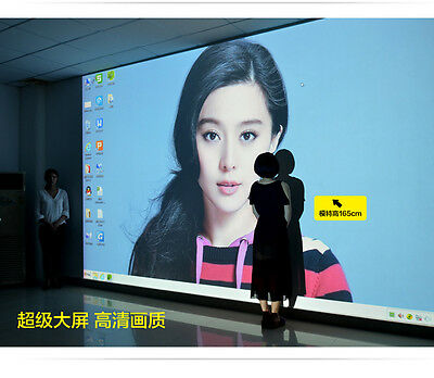 """5000Lumens 5.8"""" LCD LED Projector 1080P HDMI 3D TV Video Home Theater Cinima"""