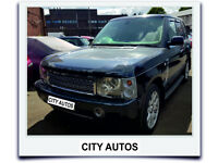 LAND ROVER RANGE ROVER VOGUE 2002, 156,000 MILES 3.0 DIESEL AUTOMATIC MPV BLUE