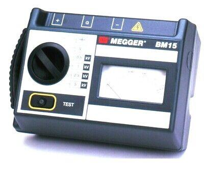 New Megger Bm15 5 Kv Analog Insulation Tester