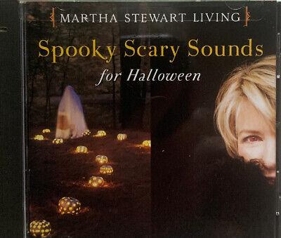 Sounds For Halloween (MARTHA STEWART—Spooky Scary Sounds For Halloween BRAND NEW)