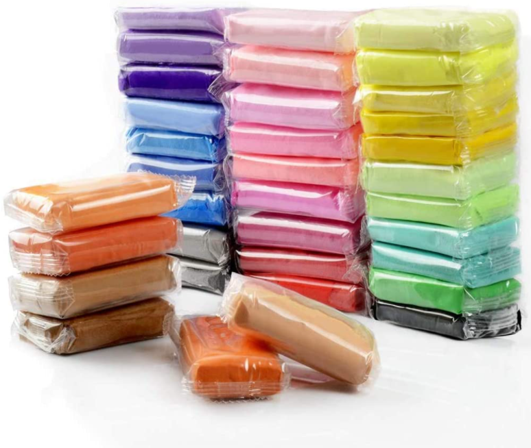 Air Dry Clay,Diy 36 Colors Ultra Light Modeling Clay Magic C