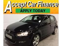 Volkswagen Polo 1.6TDI ( 90ps ) 2012MY SEL FROM £41 PER WEEK !