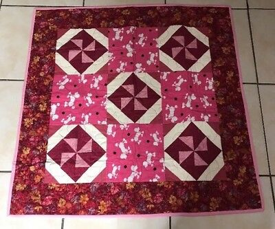 Babies Baby Project Linus UK Quilt / Blanket / Play Mat Multi Colour Poodle Dog