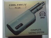 Innokin Cool Fire IV Plus with iSub Apex (Silver) - new, shrink-wrapped package