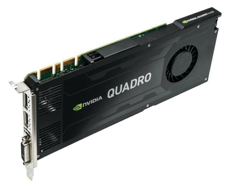 NVIDIA Quadro K4200 4GB CAD Grafikkarte