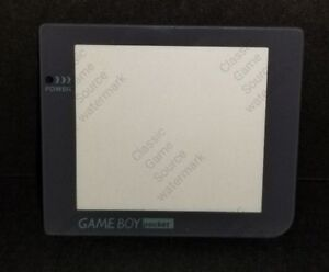 Real Glass Protective Screen Lens for Nintendo Game Boy Pocket W/ Adhesive  D19