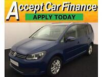 Volkswagen Touran 1.6TDI ( 105ps ) 2013MY SE FROM £46 PER WEEK!