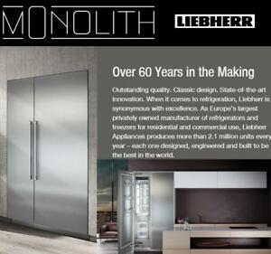 https://aniks.ca/ Liebherr Monolith  Built-In Column Refrigeration, Refrigerators and Freezers Ltd Time 20%OFF MSRP