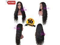 Closure Wig Water Curls 28 Inch