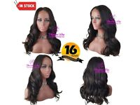 18 Inch Closure Lace Wig