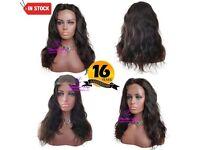 Natural Wave Brazilian Closure Wig