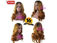 Ombre 1b/30 Closure Lace Wig