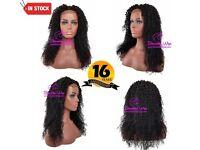 Kinky Curl Lace Closure Wig 20 Inch- 250% Destiny