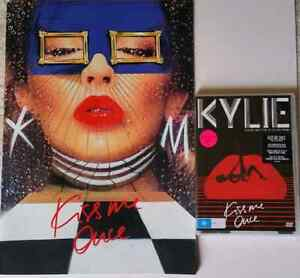 Kylie Minogue Kiss Me Once Program, DVD & CD. SPECIAL OFFER. Pascoe Vale Moreland Area Preview