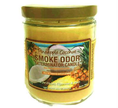 Smoke Odor Exterminator Pineapple Coconut Scented Candle Odor Exterminator Candle