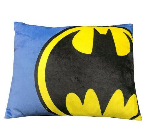 "DC Batman Toddler bed  Decorative Pillow 12"" x 14"" see Details"