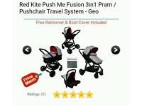 Red kite travel system