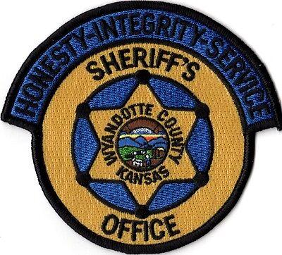 Wyandotte County Sheriffs Office Police Patch Kansas KS