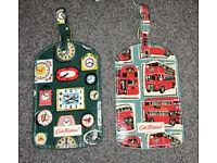 2 Cath Kidston luggage tags