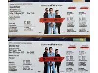 Depeche Mode ROME SUNDAY! Tickets - THIS WEEKEND! - very best gold tickets