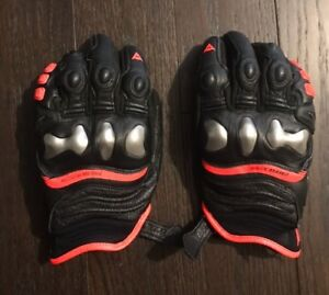 Dianese x strike motorcycle gloves size large