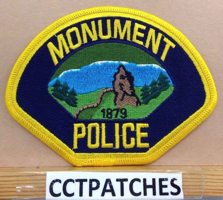 MONUMENT, COLORADO POLICE SHOULDER PATCH CO