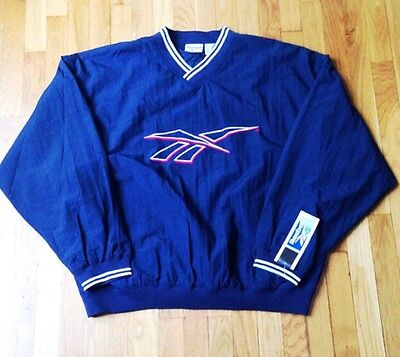 7ea06853cf76 vintage reebok windbreaker jacket mens size XL deadstock NWT 1996
