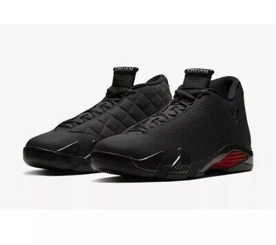 Men's Nike Air Jordan 14 Retro SE Black Ferrari Size 9.5 Black Red BQ3685 001
