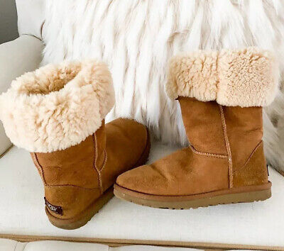 UGG Classic Tall Boots Chesnut Women's SIZE 6 (Fits A 7)