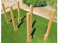 Childs Garden/Playground 11 piece,Fun Activity Play Trim Trail