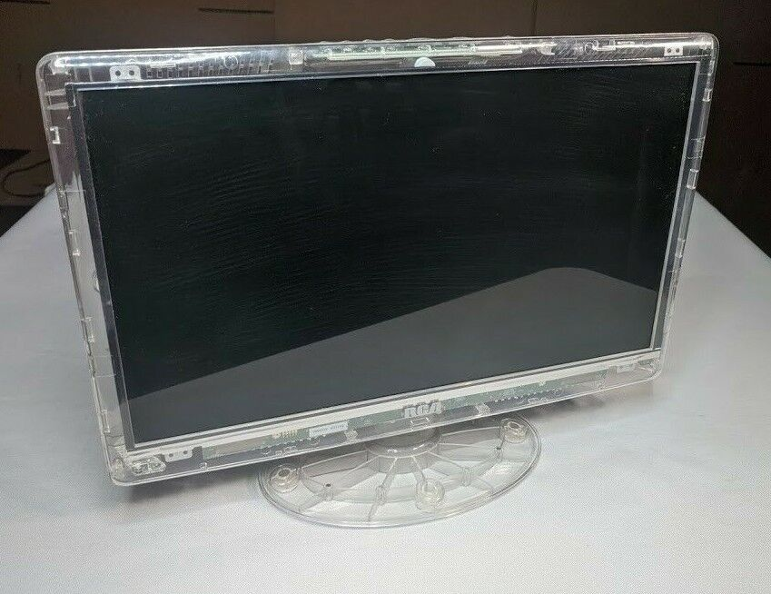 """RCA DLTK156R 15.6"""" Prison Clear LCD HD TV For Parts / Repair - Damaged LCD (001)"""