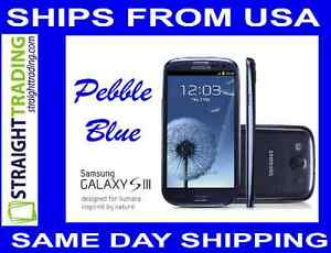 Samsung Galaxy S3 S III GT-I9300 16GB Pebble Blue (Factory Unlocked) 4 Bands