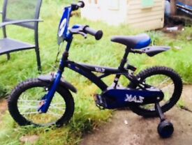 """16"""" boys bike"""