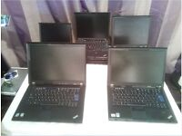 IBM Thinkpad T60 & Lenovo T61 hp sony dell All £25 each