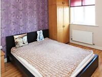 IKEA MALM Bed (Black) and mattress for sale.