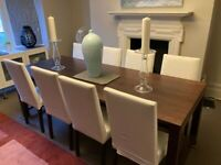 HABITAT Dining Room Table seats 8