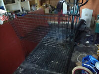 Double Dog Crate Made By Dogpod cost £300 new VGC £75.00