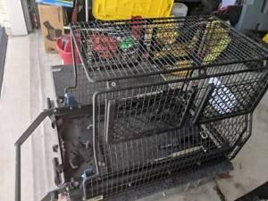 MSA fridge cage barrier to siut Engel 40
