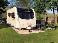 STERLING ECCLES ELITE DIAMOND CARAVAN 2011 4 BERTH CARAVAN WITH