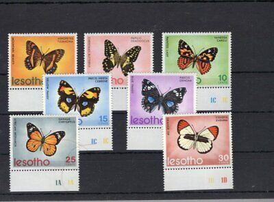 Lesotho 1973 Mi 140-146 butterfly   MNH 20 .-Eu