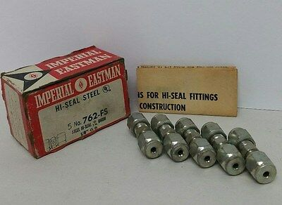 Imperial Eastman 762-fs High Steel Union 18 Lot Of 5