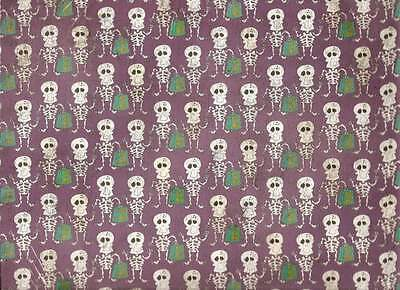 (SPARKLE RICKEY D BONES Halloween 12 x 12 Paper - 2 Sheets)