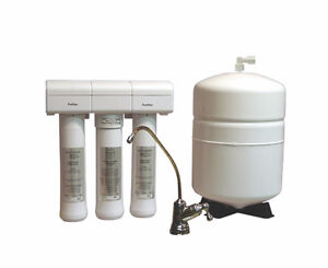 Eco Water reverse osmosis drinking water system.