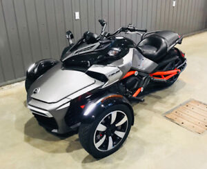 Spyder f3s can am 2015